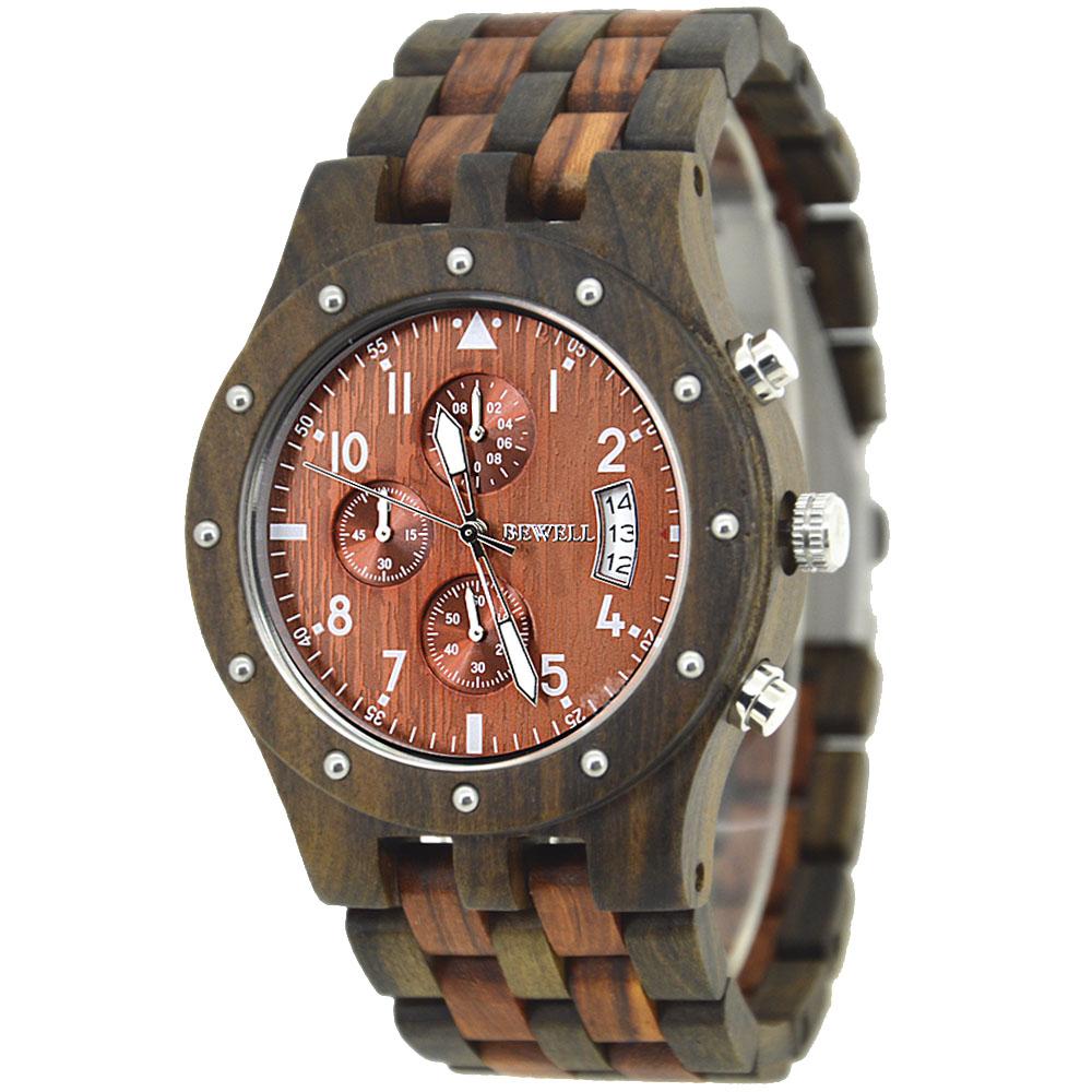 De revival van het houten sieraad; een houten horloge voor heren